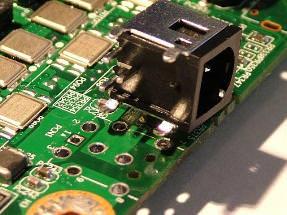 laptop power port repair