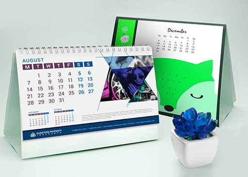 How Company Desk Calendars Can Help You In Business Promotion?