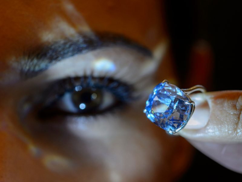 How Blue Diamond Rings are a Novelty?